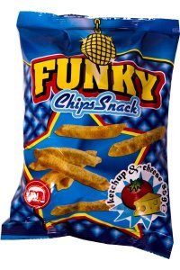 Funky KETCHUP & CHEESE 35g/25Buc./Bax